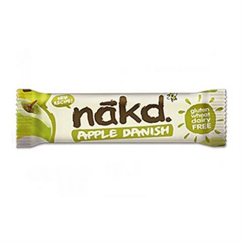 Apple Danish - Nakd Raw Fruit, Oat & Nuts Bars 30g